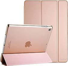ProCase Coque iPad 10.2 Pouces 7ème Génération 2019 A2197/A2198/A2200, Smart Cover Case Housse Étui de Protection avec Support Fonction et Veille/Réveil Automatique-Or Rose