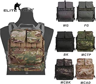 Paintball Equipment Tactical Molle Backpack Pouch by Zip for Vest