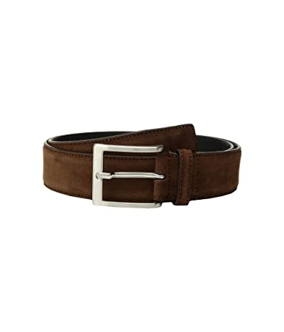 To Boot New York Belt (Medium Brown Suede) Men