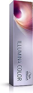 Color de Wella Illumina pelo rubio 8/05 naturaleza de caoba, 60 ml
