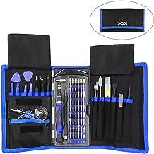XOOL Precision Screwdriver Set, 80 in 1 Magnetic Repair Tool Kit, Screwdriver Kit with Portable Bag for iPhone, iPad, MacBook, Gaming Console, Controller