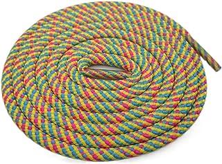 Corde Ronde extérieure Lacet Lacets 3 Couleurs mélangées Escalade Lacets Voyage Shoestrings pour Martin Bottes