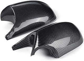 S3 porta laterale Specchio copertura dellalloggiamento del Caps di ricambio for Audi A3 RS3 8V 4 Color : Silver Copri Specchietto Tappi specchio retrovisore copertura for Audi