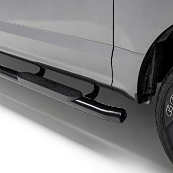 Cab Black 2015-2020 Colorado//Canyon Ext Westin Pro Traxx 4 Oval Nerf Step Bars 1 Pair 21-24005