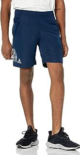 adidas Men's Club 3-Stripes Regular Fit 9-Inch Quarter Length Tennis Club Shorts