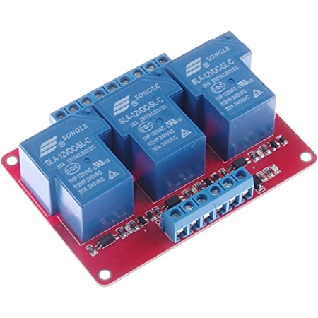 30A 12V 1-Channel Relay Module Board With Optocoupler H//L Level Triger SF