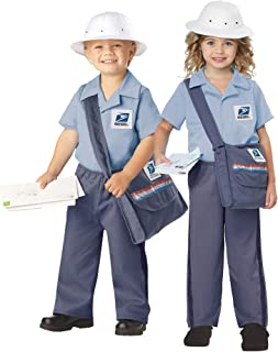 California Costume Collection - Mr. Postman Toddler Costume