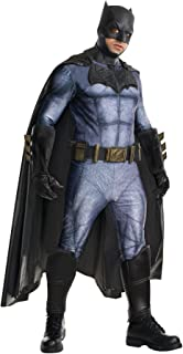 Rubie's Men's Grand Heritage Dawn of Justice Batman Outfit Halloween Fancy Costume