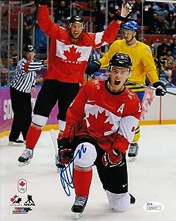Jonathan Toews Team Canada Blackhawks Autographed Signed Memorabilia Photo 8x10 Hockey JSA