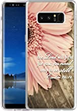 Hungo Galaxy Note 8 Case Bible Verses, Samsung Galaxy Note 8 2017 Cover Christian Quotes Sayings Life is Beautiful N8HOTER (3)