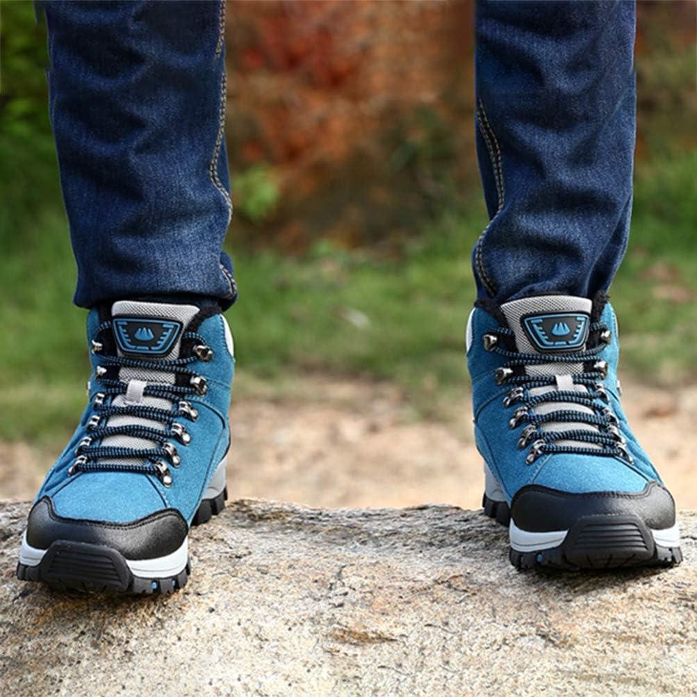 Botas de Senderismo de Mujer S Entrenadores Antideslizantes Botas para Viajar Camping Damas Ligero Impermeable Trekking Zapatos de Alta Altura