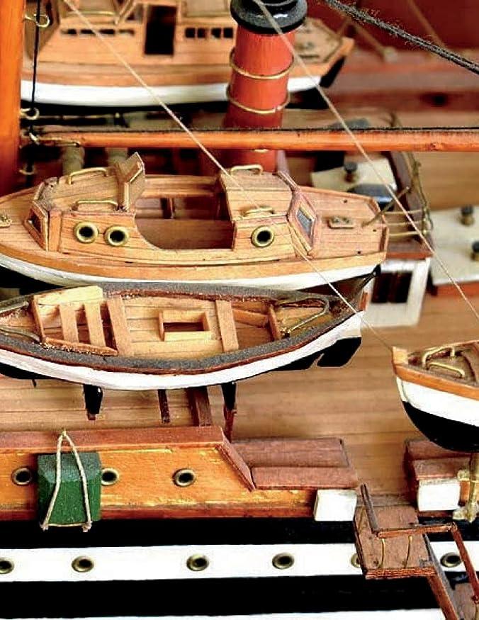 知性教育者風味Model Ship Building Notebook Large Size 8.5 x 11 Ruled 150 Pages Softcover