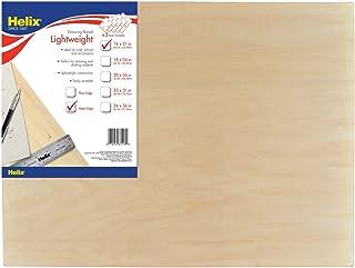 Helix Wooden Lightweight Drawing Board, 16 x 21 Inch, Metal Edge (37416)