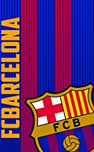 FCB FC Barcelona Manta Polar, 100% Poliester, Azulgrana, 100 X 150 cm