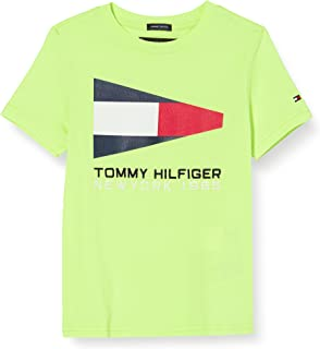 Tommy Hilfiger Tommy Flag Sailing Gear tee S/S Camiseta para Niños