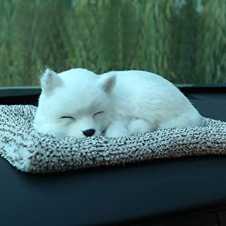 Anweike Pet Dog Samoyed Activated Carbon Doll - Used for Home and Car Decoration, Eliminate Formaldehyde, Unpleasent Smell, Purification Air (Samoyed)