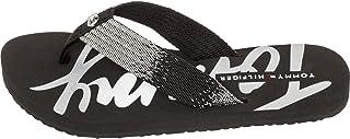 Tommy Hilfiger Flip Flop-Sandals For Women - Black (38 EU)