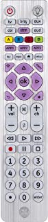GE Backlit Universal Remote Control for Samsung, Vizio, Lg, Sony, Sharp, Roku, Apple TV,..