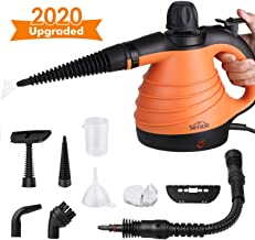 SIMBR Upgrade Multipurpose Steam Cleaner with 9 Pieces Accessory Kit, Handheld Pressurized Household Steamer 350ML Chemical-Free Cleaner, All-Natural Steam Cleaners for Home Use