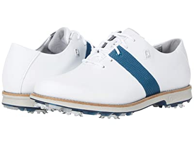 FootJoy DryJoys Premiere (White/Navy) Women