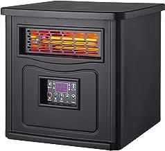 TRÉBOL ADVANCE Calefactor Ecocalefactor, Calor ecológico, programable, con Sistema de economía de energía, Temporizador, con Mando a Distancia, portátil