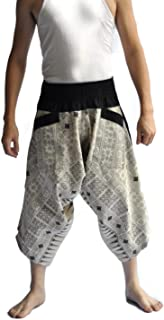 Men's Japanese Style Pants One Size Tradition Stone