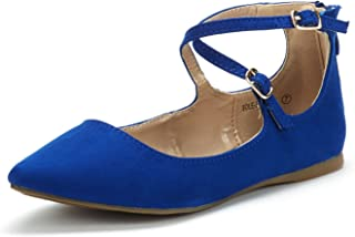 royal blue flat dress shoes