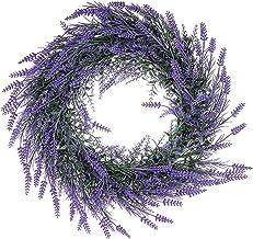 1Pc Simulation Lavender Pendant Simulation Wreath Door Window Wall Decoration Home Decoration