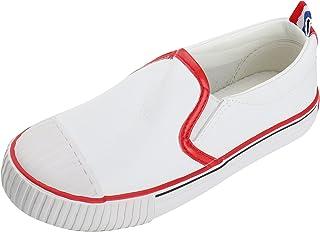 1f7ad6f2b2f62 Amazon.fr   Blanc - Mocassins   Chaussures garçon   Chaussures et Sacs