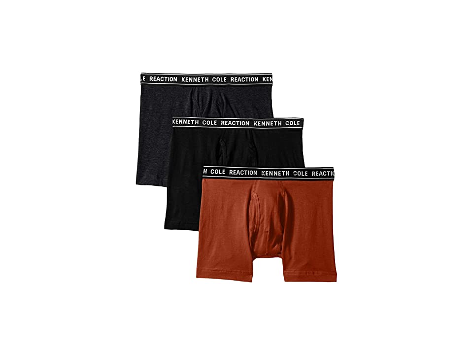 Kenneth Cole Reaction - Kenneth Cole Reaction 3-Pack Basic Boxer Brief