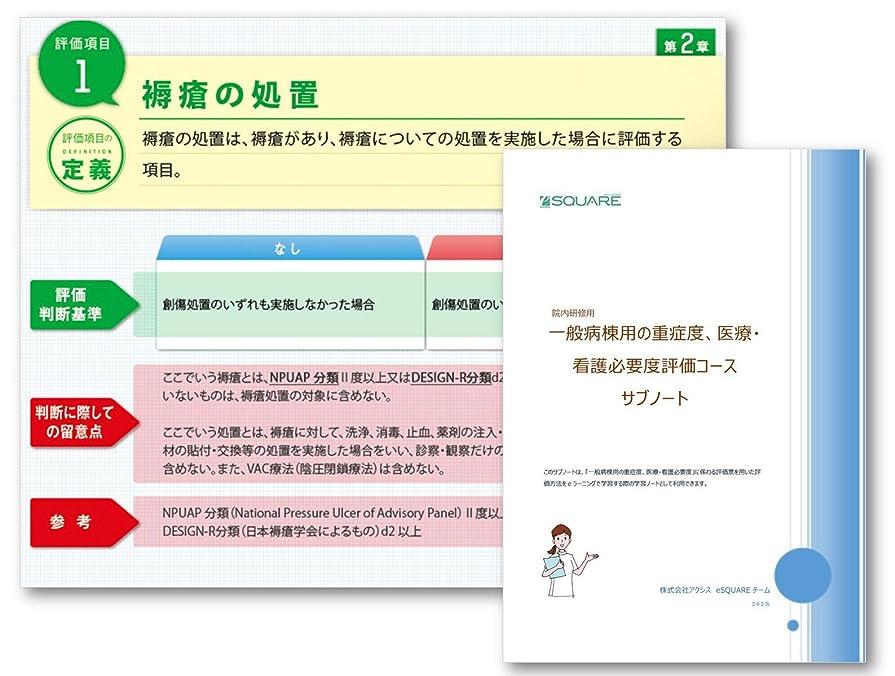 ネブ標高悲惨一般病棟用の看護必要度評価コース パーソナル(平成30年度診療報酬対応版、3ヶ月間の使用権&サブノート付き)