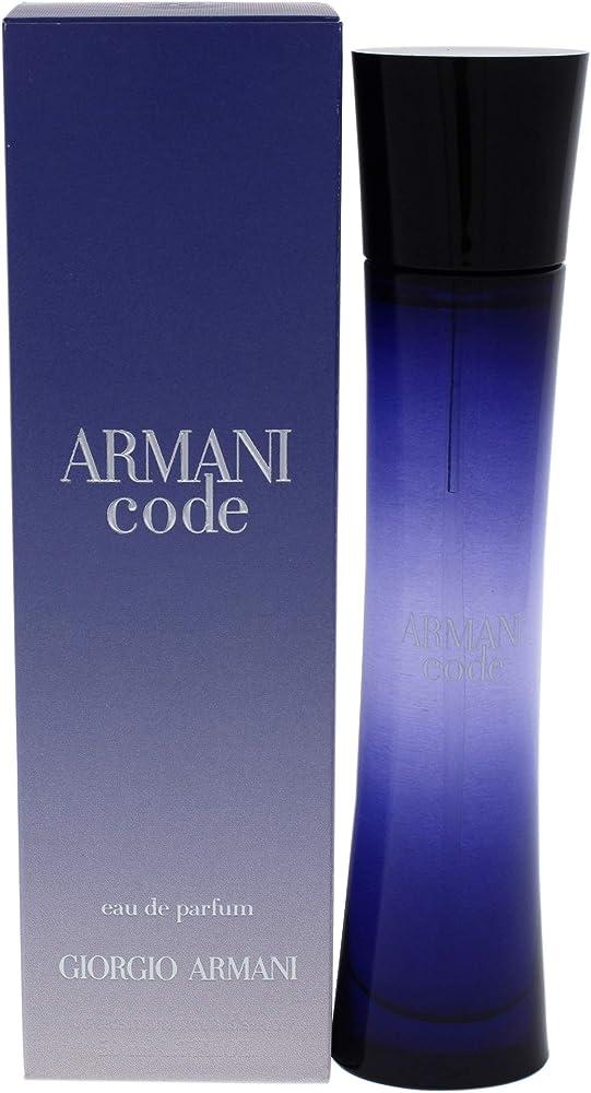 Armani code, eau de parfum,profumo per donna, 50ml 5325