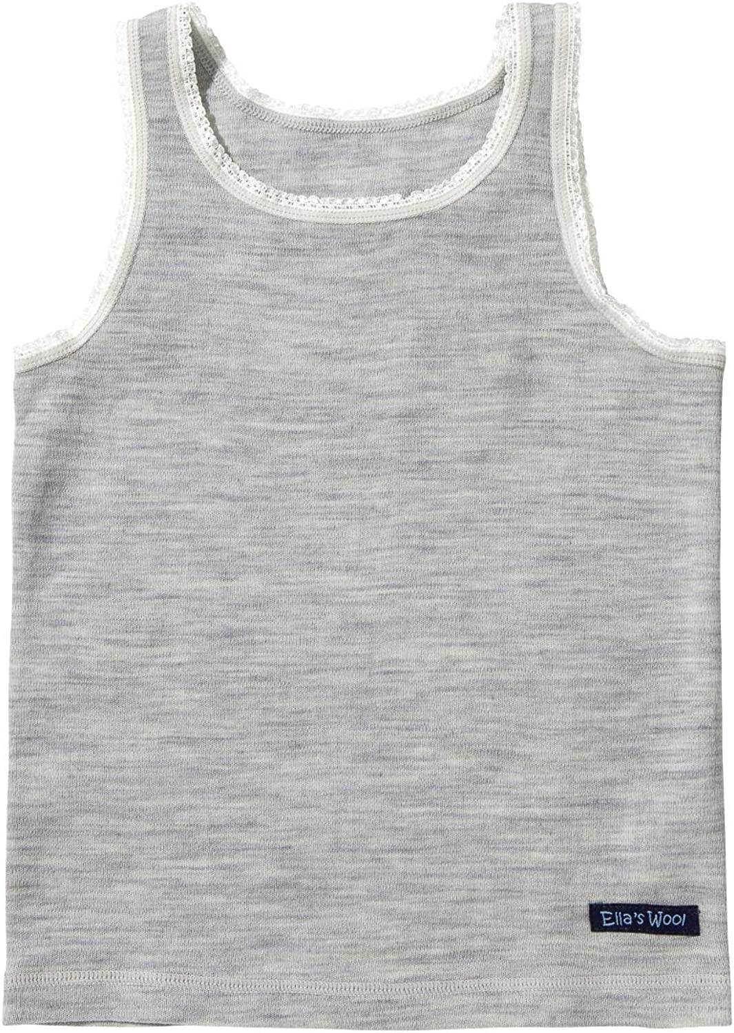 Ella's Wool Merino Base Layer Selling Top Tank Lace w Reservation