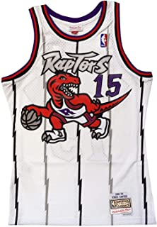 Mitchell & Ness Toronto Raptors Vince Carter 1998 Home Swingman Jersey