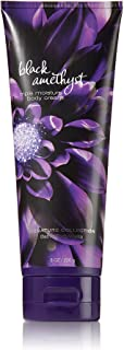 Bath and Body Works Signature Collection Black Amethyst Body Cream, 8 oz, new bottle style