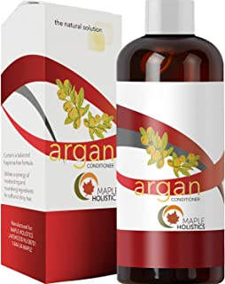 Argan Oil Deep Conditioner for Damaged Hair Pure Shea Butter Jojoba Oil Organic Pomegranate for Women Men Kids Natural Sulfate Free Dry Hair Moisturizer Anti Breakage Thickening Family Size -16 oz