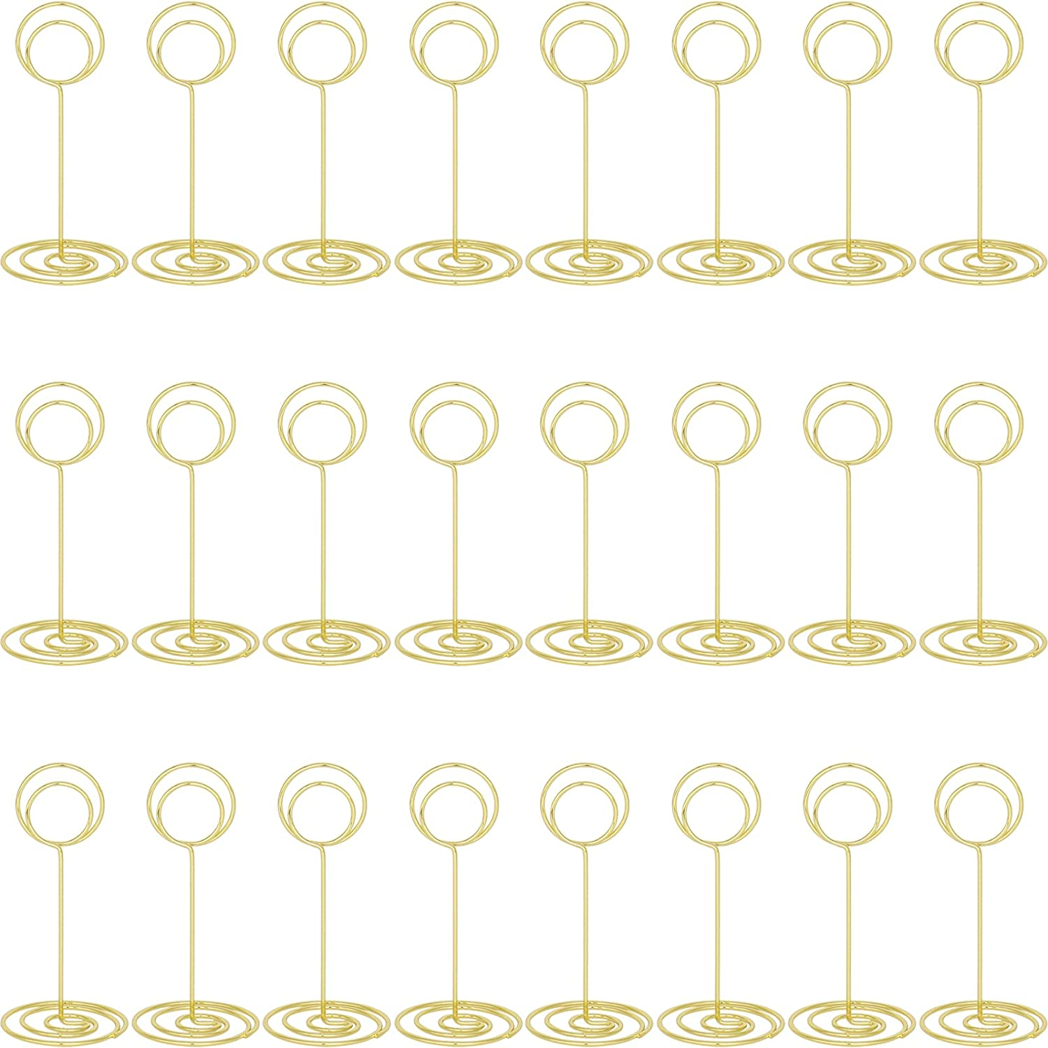 24-Piece Table Number Max 49% OFF Card Holders New color Little Photo Holder Lov