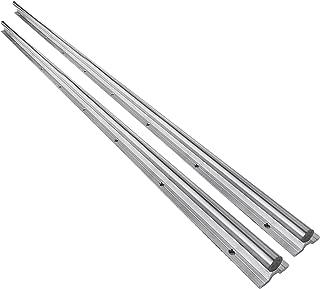 OrangeA 20-1500mm Linear Rail 2 Set SBR Fully Supported Slide Guide Linear Rail Length 1500mm/59