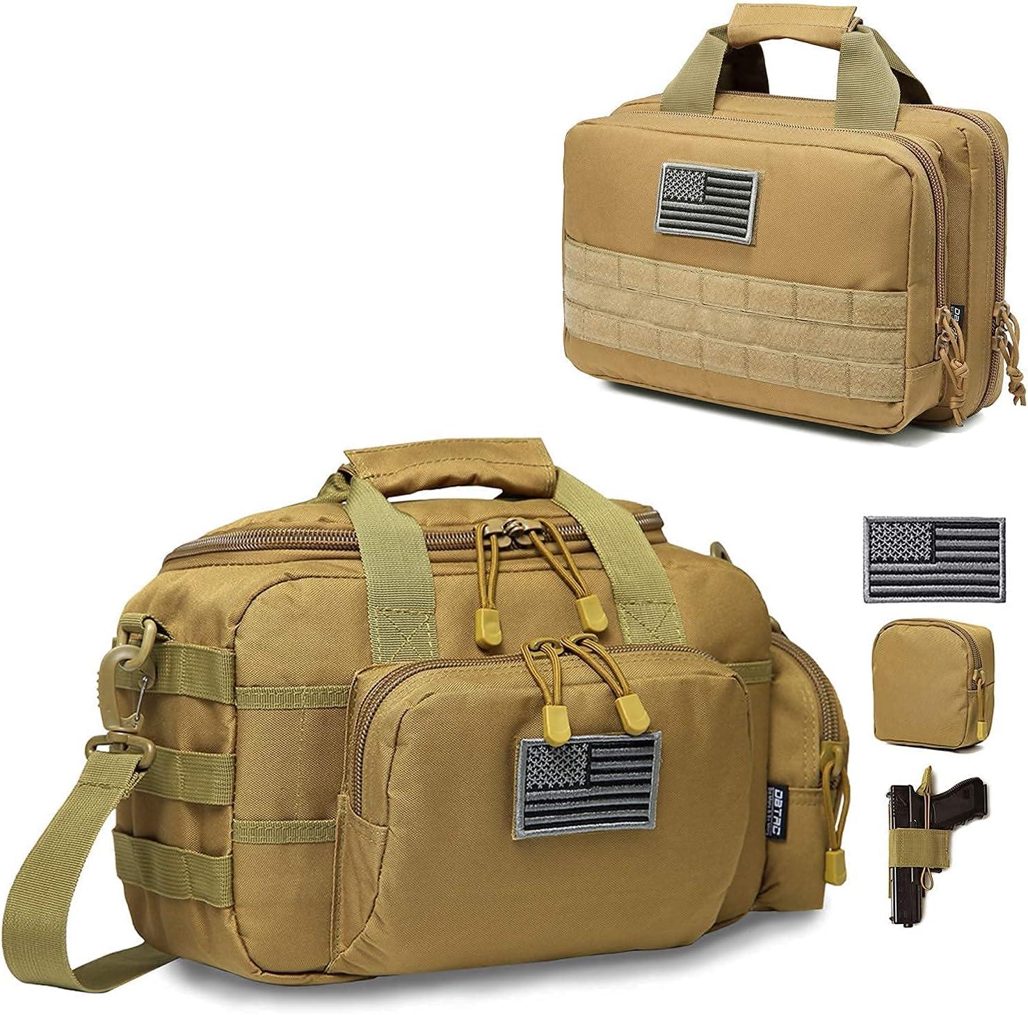 DBTAC Range Bag Small for 2X shop fo + Now on sale XS Tan Handbag Pistol