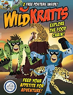 Wild Kratts magazine 2019- Explore The Food Chain!