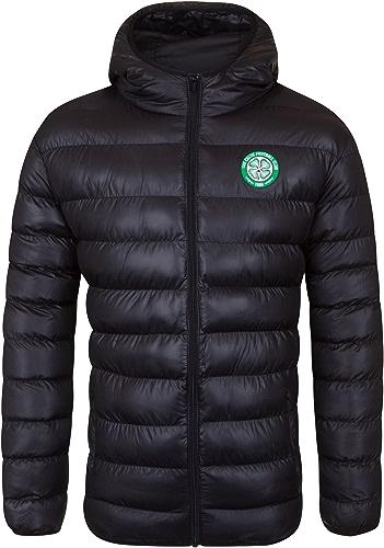 Celtic FC officiel - Doudoune matelassée thème football - à capuche - homme - XL