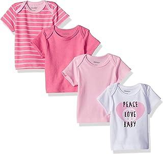 Hanes Ultimate Baby Flexy 4 Pack Short Sleeve Crew Tees