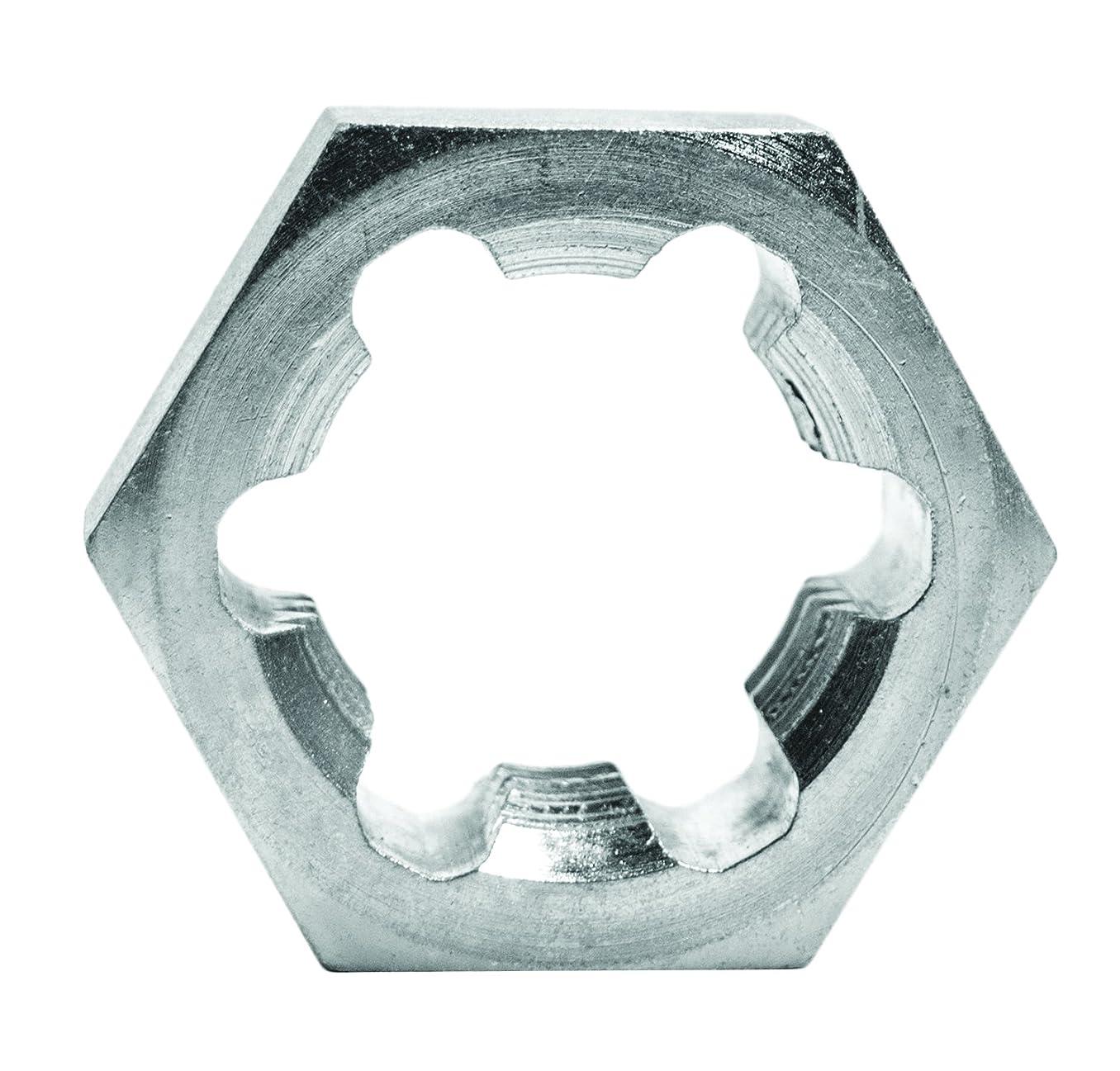 Century Drill & Tool 92923 Right Hand Rethreading Hexagon Die, 1-1/4-7 NC