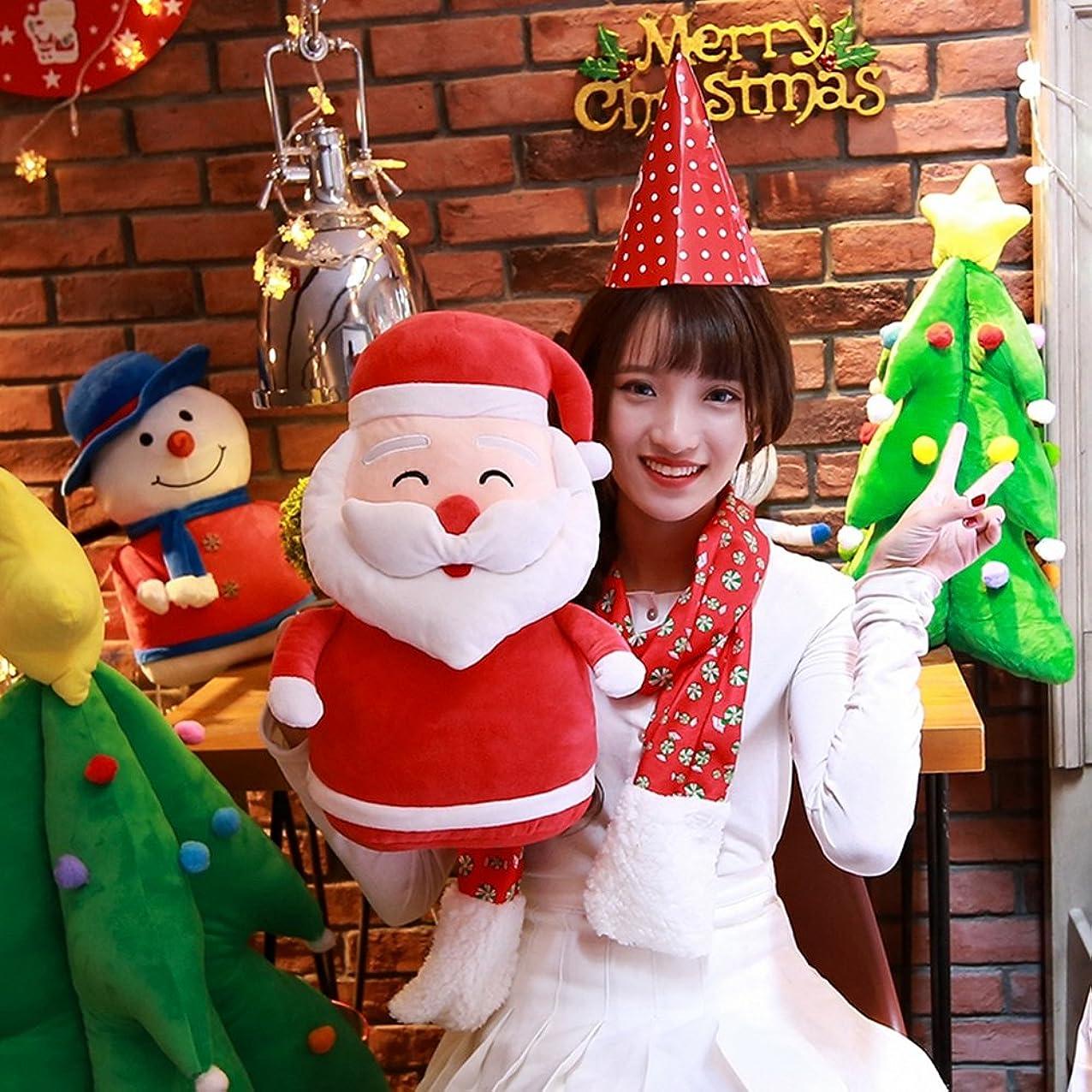 つぶす外国人水分URAKUTOYS サンタクロース ぬいぐるみ 形 置物 クリスマス 雑貨 インテリア クリスマス プレゼントの 飾り Santa Claus (43cm)