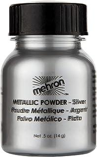 mehron Metallic Powder Silver (並行輸入品)