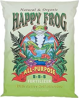 FoxFarm Happy Frog All-Purpose Fertilizer, 18 lbs