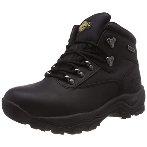63d64879cf2 Northwest Men Hiking Walking Trail Boots Leather Waterproof Ankle High Rise  Shoe