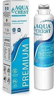 AQUACREST DA29-00020B Refrigerator Water Filter, NSF 53&42 Certified to Reduce 99% of Lead, Cyst & More, Compatible with Samsung DA29-00020B, DA29-00020A, DA97-08006A, HAF-CIN/EXP, 46-9101