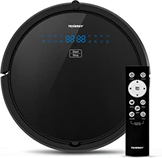 Tenergy Otis Robot Vacuum Cleaner, Max Power Suction Robotic Vacuum, Self-Charging,