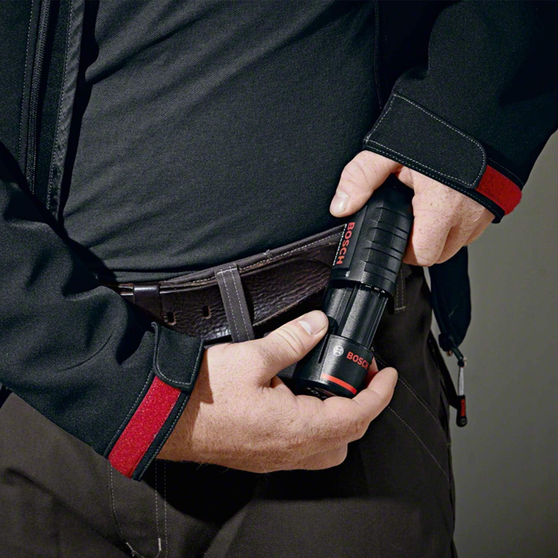 unisex Bosch Professional GHJ 12+18V 1 bater/ía x 2.0 Ah, 12//18/V, Softshell, negra, talla XXL Chaqueta calefactable a bater/ía